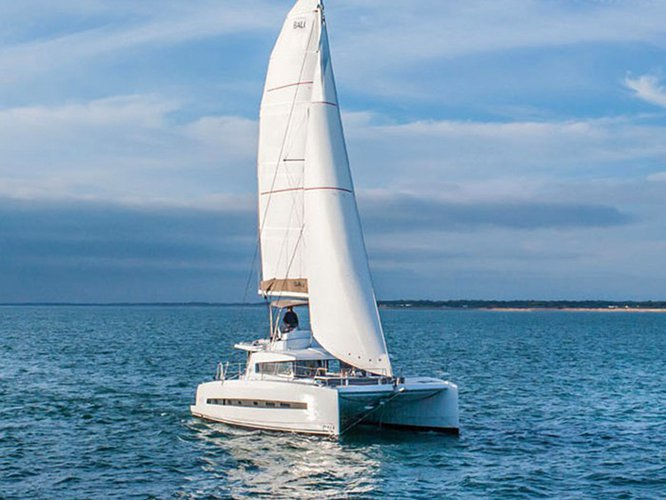 Sail Rogoznica, HR waters on a beautiful Bali Catamarans Bali 4.3 / 4 double cabins
