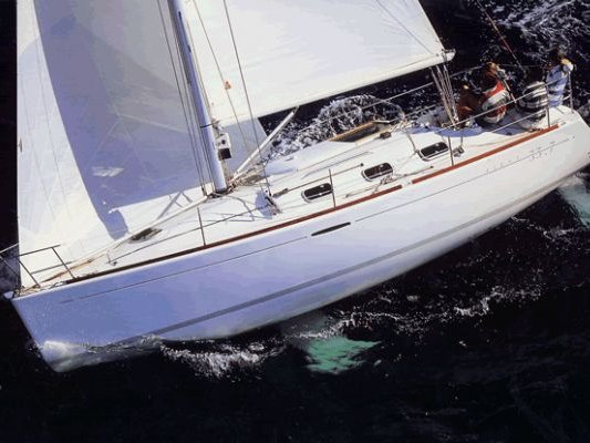 All you need to do is relax and have fun aboard the Beneteau Oceanis 393 Clipper
