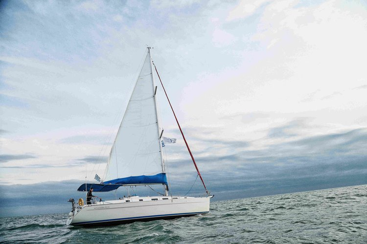 Rent this Beneteau Cyclades 43.4 for a true nautical adventure