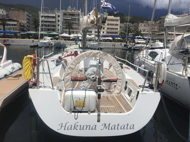 Enjoy Kavala, GR to the fullest on our comfortable Comar Yachts Comet 41s