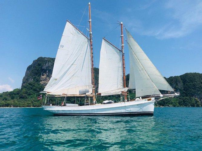 Schooner boat for rent in Ao Nang