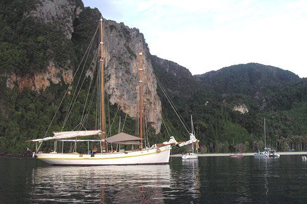 Experience Ao Nang on board this elegant sail boat