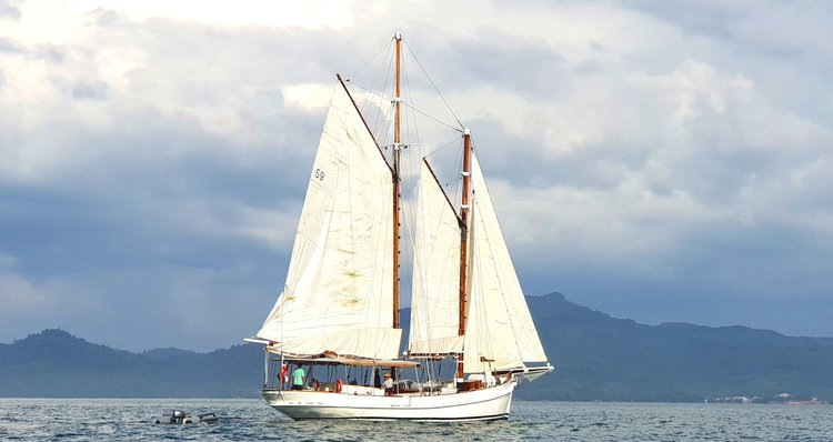 Boating is fun with a Schooner in Ao Nang