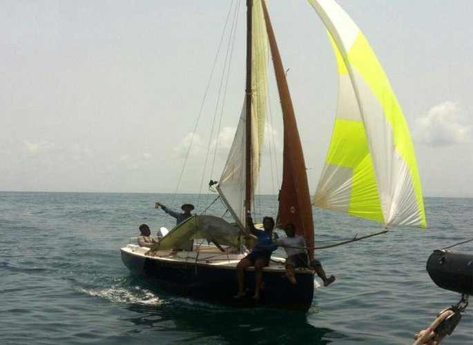 Experience Mumbai on board this elegant sail boat