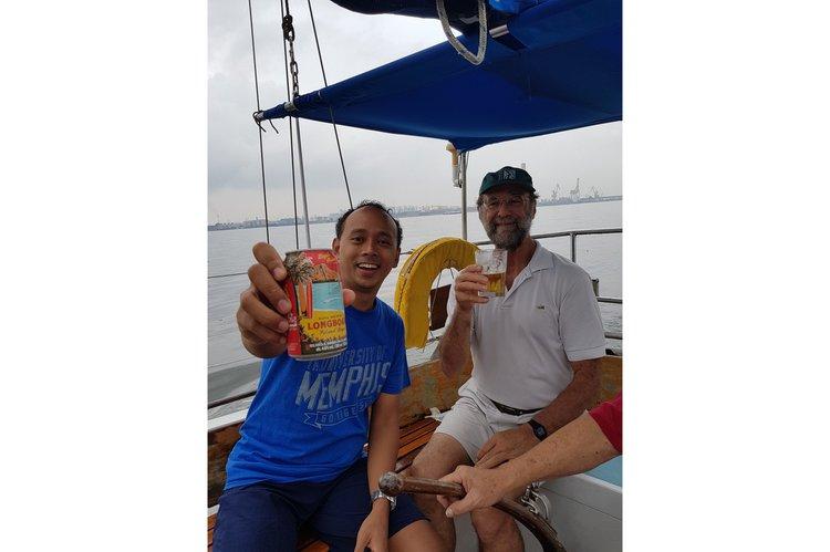Discover Changi Sailing Club surroundings on this Custom Custom boat