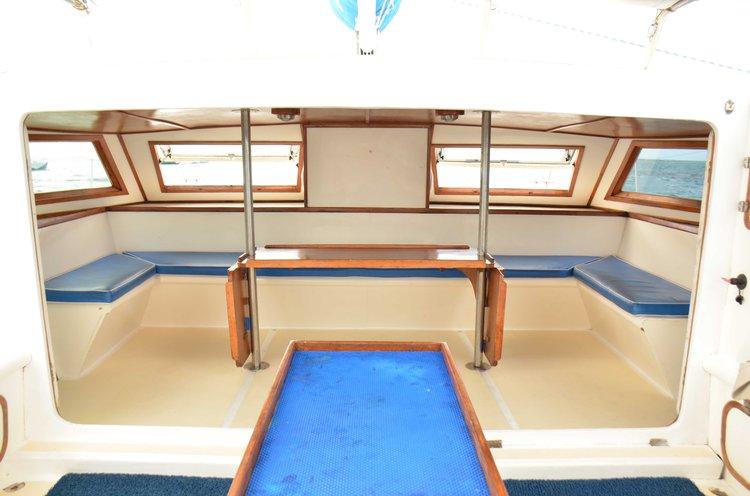 Custom's 41.0 feet in Trou D'Eau Douce