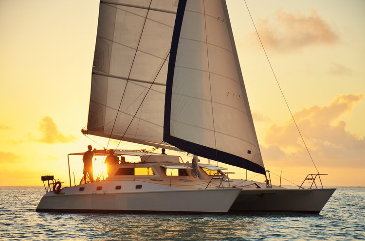 This catamaran rental is perfect to enjoy Trou d'Eau Douce