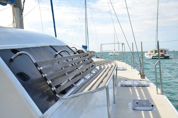 Catamaran boat rental in Trou D'Eau Douce, Mauritius