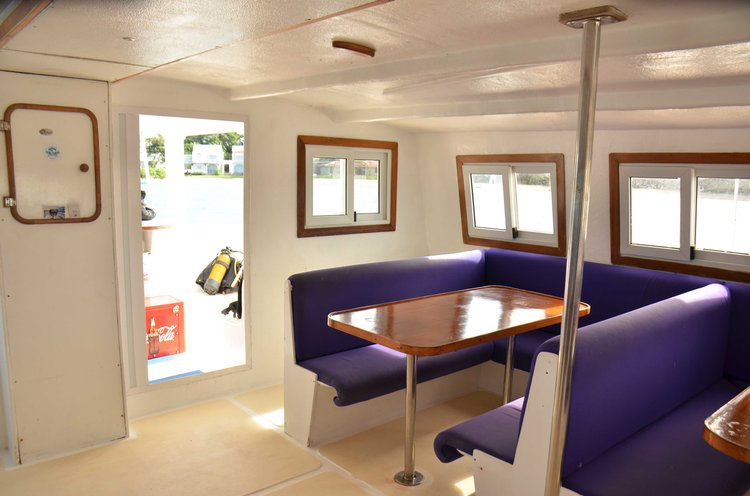 This 56.0' Custom cand take up to 36 passengers around Trou D'Eau Douce
