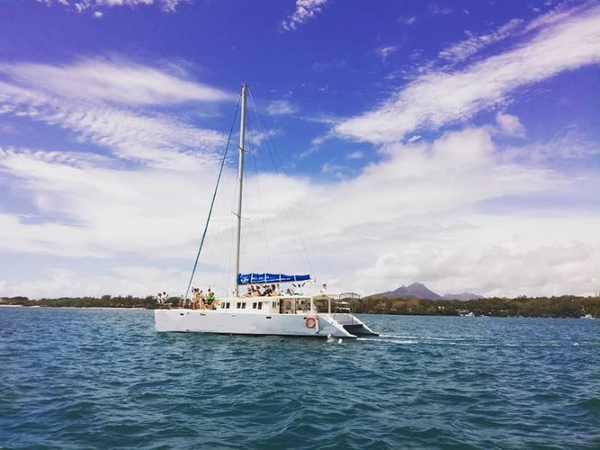 Have fun in the sun on this Trou d'eau Douce sail boat charter