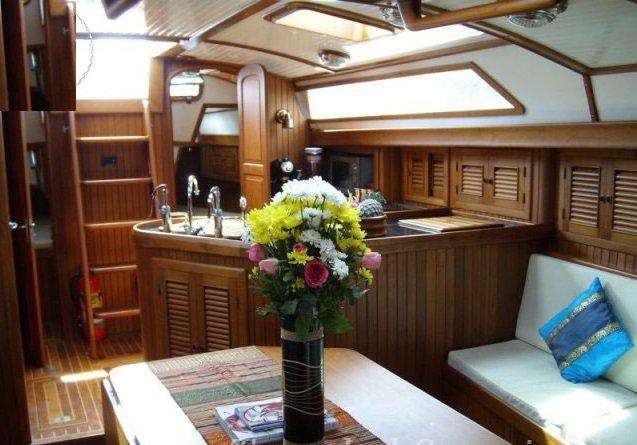 Motorsailer boat for rent in Koh Samui
