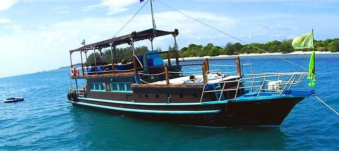 Motor boat boat for rent in Koh Samui