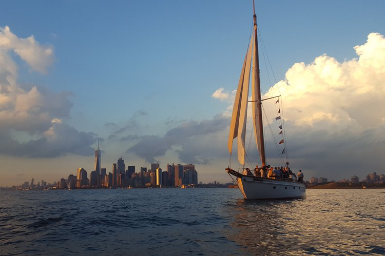 Enjoy a private charter of the classic sailing yacht Ventura