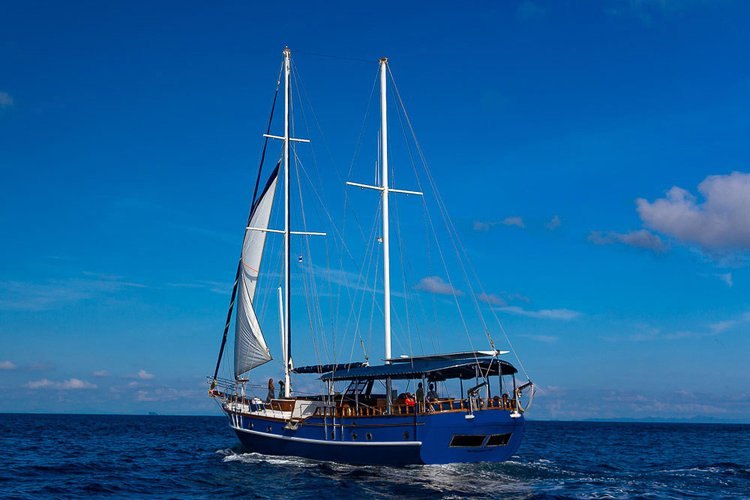 Go on a nautical adventure on this elegant Gulet