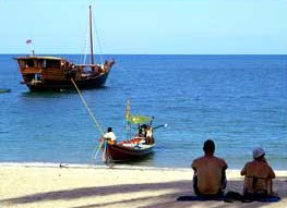 Sloop boat for rent in Koh Samui