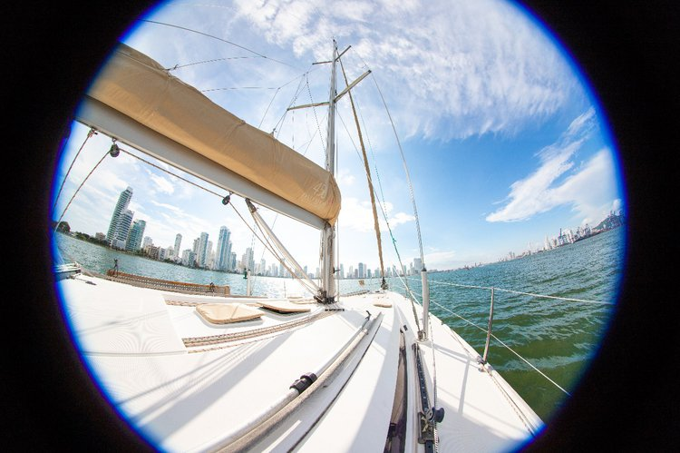 Boating is fun with a Dufour in Cartagena