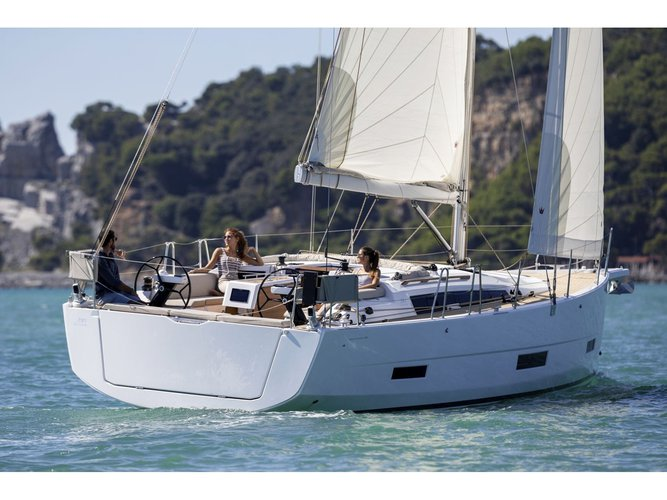 Enjoy Athens, GR to the fullest on our comfortable Dufour Yachts Dufour 390 Grand Large