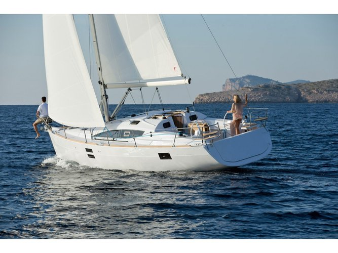 All you need to do is relax and have fun aboard the Elan Elan 40 Impression