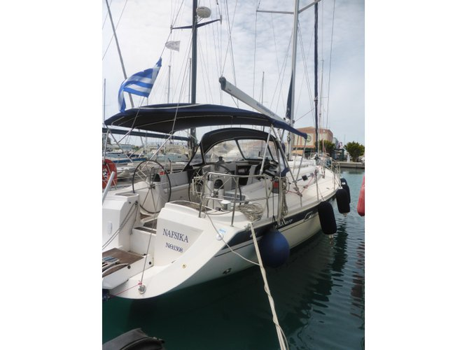 Sail the beautiful waters of Neos Marmaras on this cozy Elan Elan 45