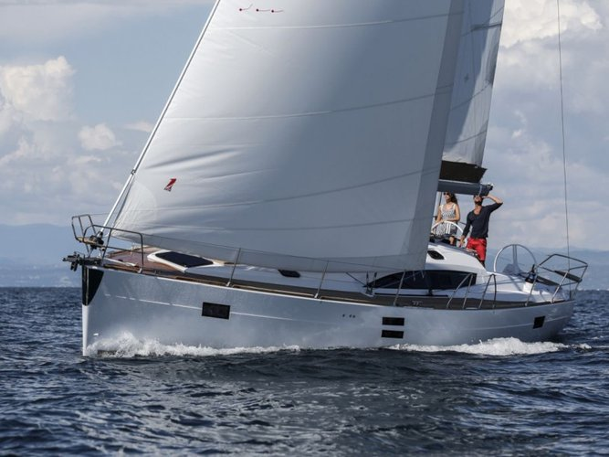 Sail Pirovac, HR waters on a beautiful Elan Elan 45 Impression - 3 cabin version