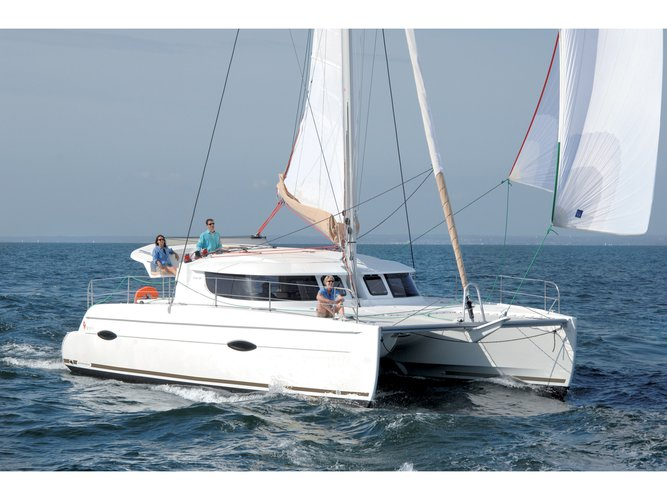 Sail Murter, HR waters on a beautiful Fountaine Pajot Lipari 41 (4 dbl, 2sgl)