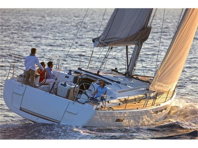 Rent this Jeanneau JEANNEAU S.O. 449 2016 for a true nautical adventure