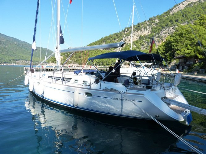 Charter this amazing sailboat in Göcek