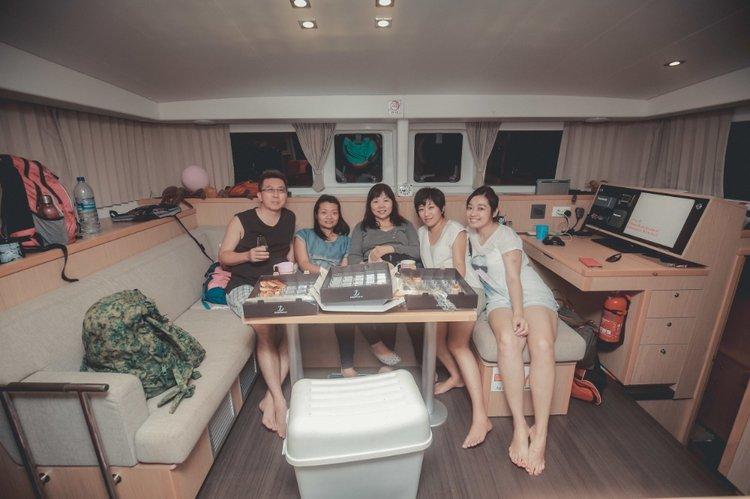Boat for rent Lagoon 40.0 feet in Marina Sentosa Cove,