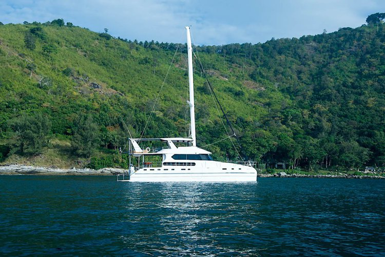 Cruise in style on this amazing catamaran for rent