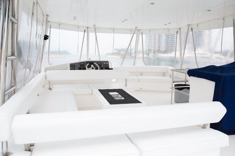 Catamaran boat rental in Sentosa, Singapore