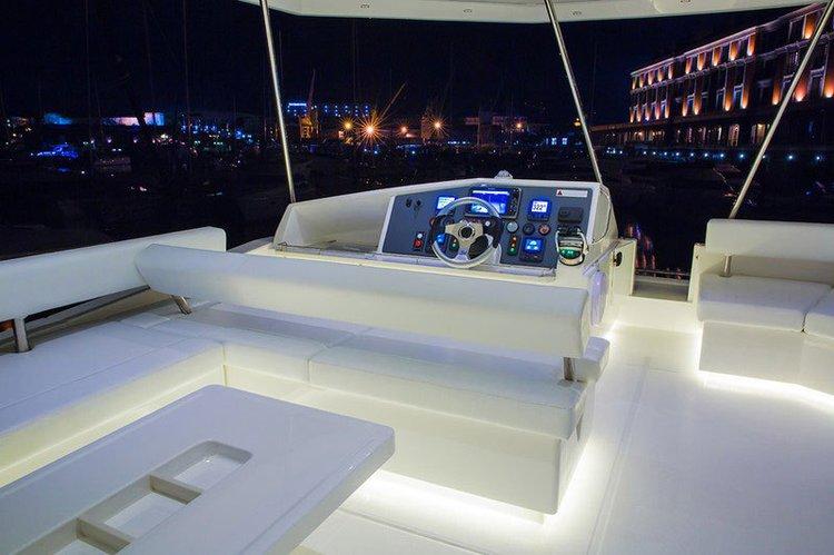 Boating is fun with a Catamaran in Sentosa