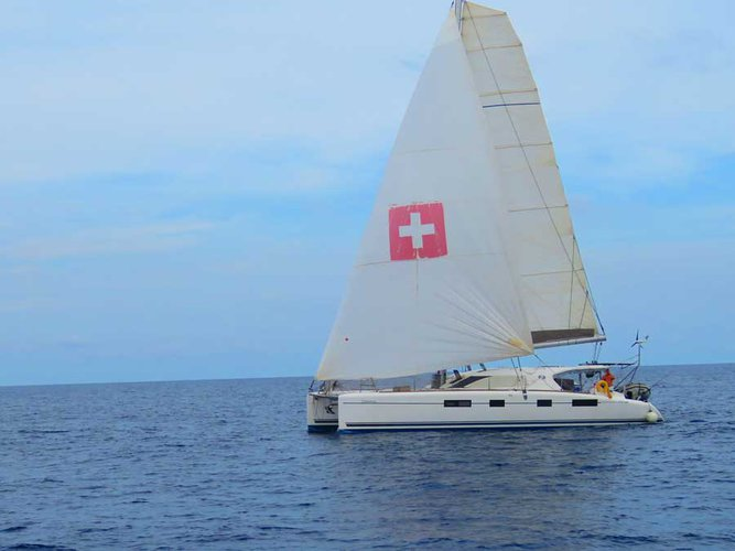 Set sail in Cartagena aboard beautiful Sailing Catamaran