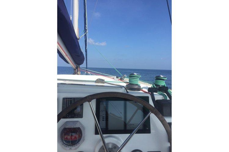 Catamaran boat rental in Phuket Boat Lagoon, Thailand