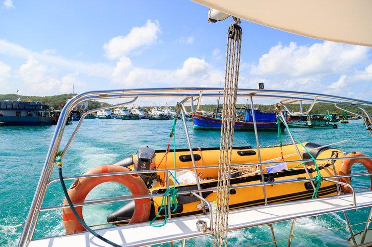 Catamaran boat for rent in Nha Trang