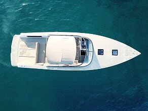 Enjoy cruising aboard this VanDutch 40 Speedboat