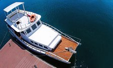 Cruise in style on this amazing motor boat  for rent.