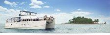 Embark aboard this catamaran for a great amusement.