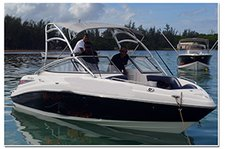 Rent this Jet boat for a true boating adventure