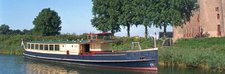 Experience Amsterdam on board this elegant motor boat