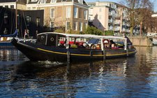 Have fun in the sun on this Amsterdam electric boat charter