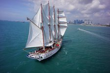 The best way to experience Sentosa is by sailing