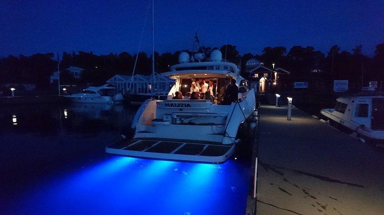 Mega yacht boat for rent in Stockholm