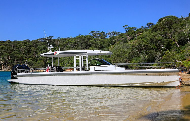 Discover Sydney in style boating on this motor boat rental