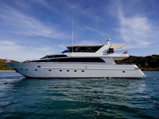Experience Pattaya on board this elegant motor boat
