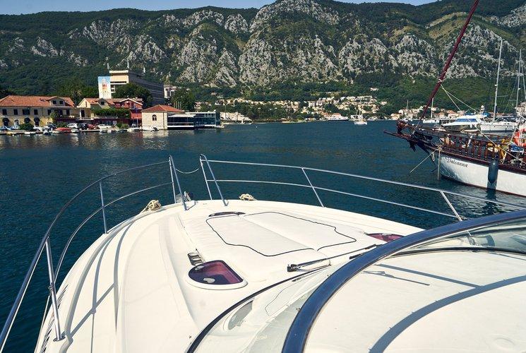 Bavaria's 39.0 feet in Kotor