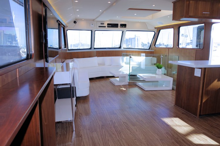 Motor yacht boat for rent in San Diego