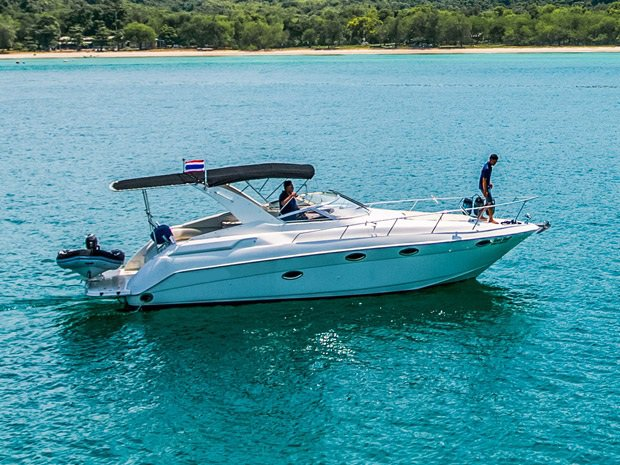 Have fun in the sun on this Pattaya motor boat charter