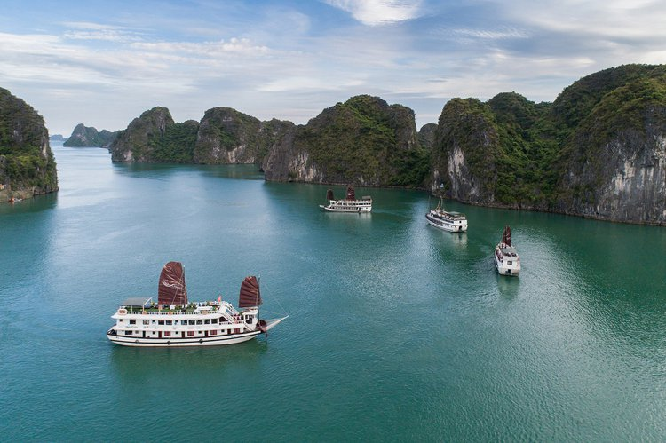 The best way to experience  Vietnam is by sailing