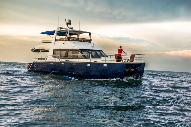 Cruise in style on this beautiful catamaran for rent