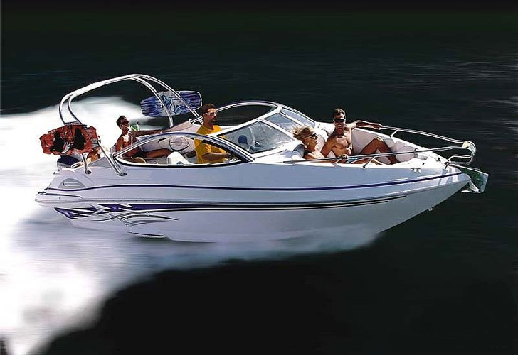 Enjoy luxury and comfort on this Goa motor boat rental